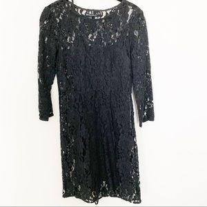 Madewell lace sheath dress